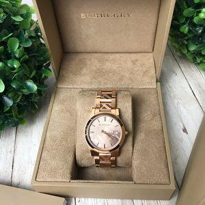 Burberry | Swiss Rose Gold Watch